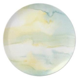 Prato Placa Pastel da pintura da lavagem do Watercolour