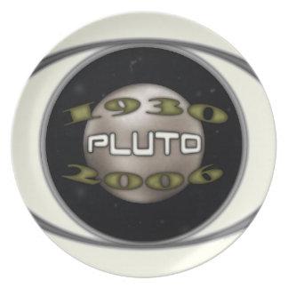 Prato Pluto 1930-2006 comemorativo