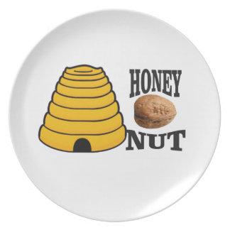 Prato porca do mel