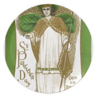 Prato Poster velho bonito de patrick de santo