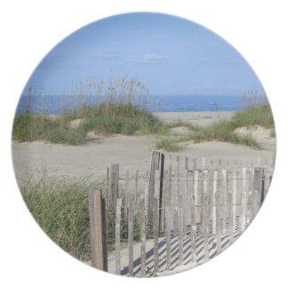 Prato Praia de Caswell, terra do NC e Seascape