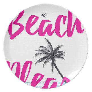 Prato praia por favor