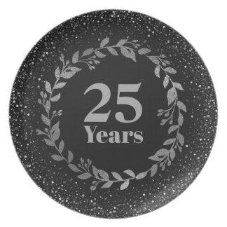 Prato Prateie o 25o presente do aniversário de casamento