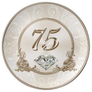 Prato Presentes lindos para a mulher das pessoas de 75