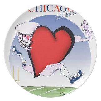 Prato Principais de Chicago e coração, fernandes tony