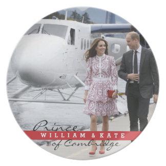 Prato Príncipe William e Catherine