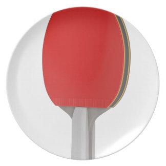 Prato Raquete do pong do sibilo