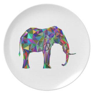 Prato Renascimento do elefante