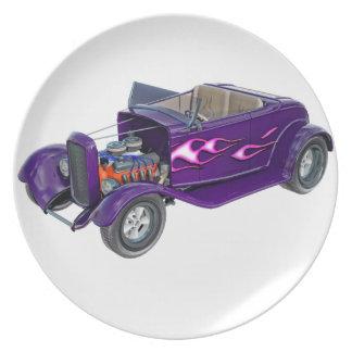 Prato Roadster 1932 com o motor indicado