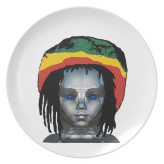 Prato Robótica Rastafarian