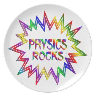 Prato Rochas da física
