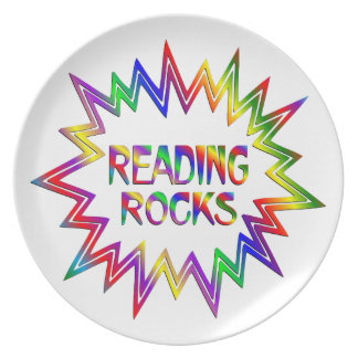 Prato Rochas da leitura