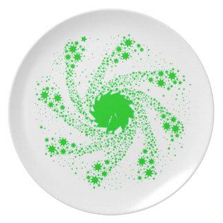 Prato Roda verde do Pin