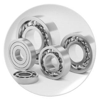 Prato Rolamentos de esferas com tamanhos diferentes