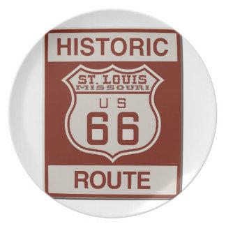 Prato Rota 66 de St Louis