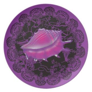 Prato Roxo do Seashell