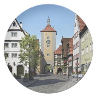 Prato Rua principal da cidade de Baviera