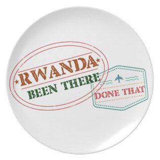 Prato Rwanda feito lá isso