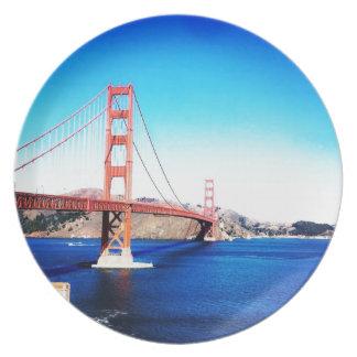 Prato San Francisco golden gate bridge Califórnia