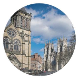 Prato Santo Wilfrids e Minster. de York