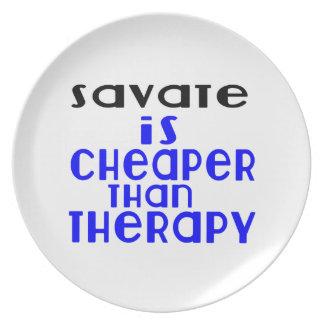Prato Savate é mais barato do que a terapia