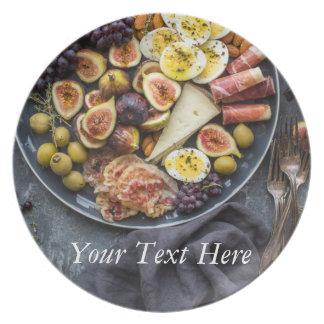 Prato Seleção italiana da comida