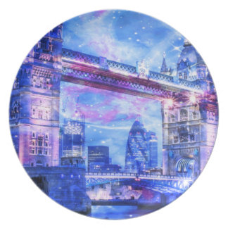 Prato Sonhos da Londres do amante