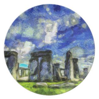 Prato Stonehenge Vincent van Gogh
