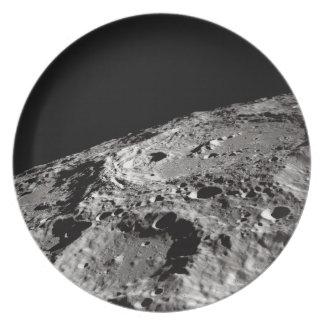 Prato superfície lunar
