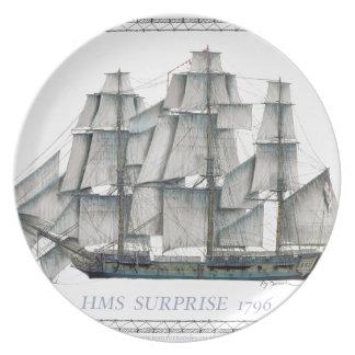 Prato Surpresa 1796 do HMS