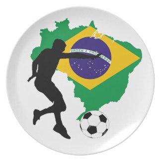 Prato T-shirt de Brasil