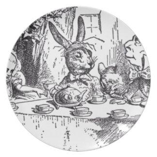 Prato Tea party louco do Hatter