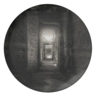 Prato Templo Abydos de Seti I