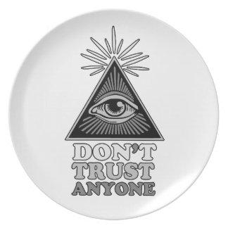 Prato Teoria de conspiração