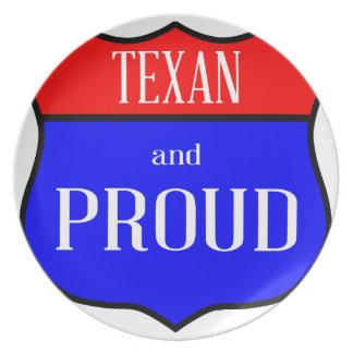 Prato Texas e orgulhoso