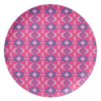 Prato toalha fluorescente da mesa