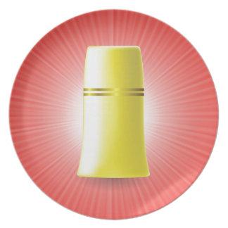 Prato Tubo amarelo