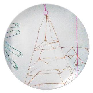 Prato Um jogo do grânulo de vidro dos Geometers