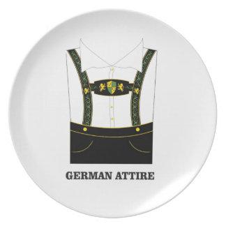 Prato Vestuário alemão
