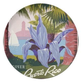 Prato Viagens vintage Puerto Rico