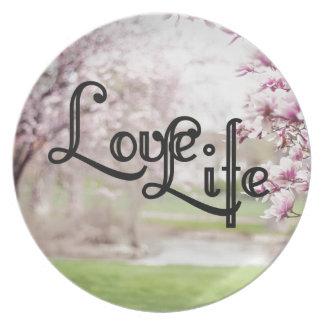 Prato Vida do amor