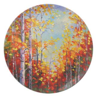 Prato Vidoeiros do outono