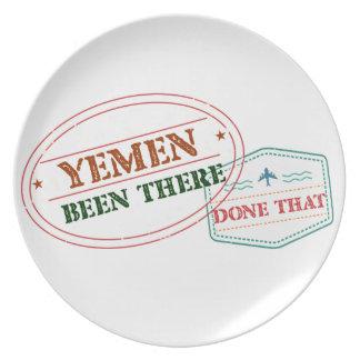 Prato Yemen feito lá isso