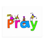 Pray Cartão Postal