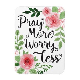 Pray mais preocupação menos ímã