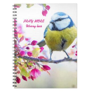 Pray mais, preocupe menos caderno