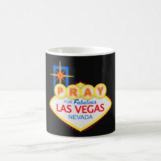 Pray para a caneca de café de Las Vegas