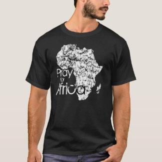 Pray para África Camiseta