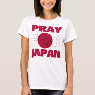"""""""Pray para camisa do alivio do tsunami do"""