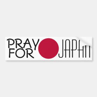 Pray para Japão Adesivo Para Carro